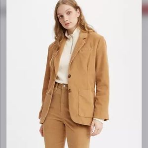 NWT Levi's Corduroy Blazer Jacket